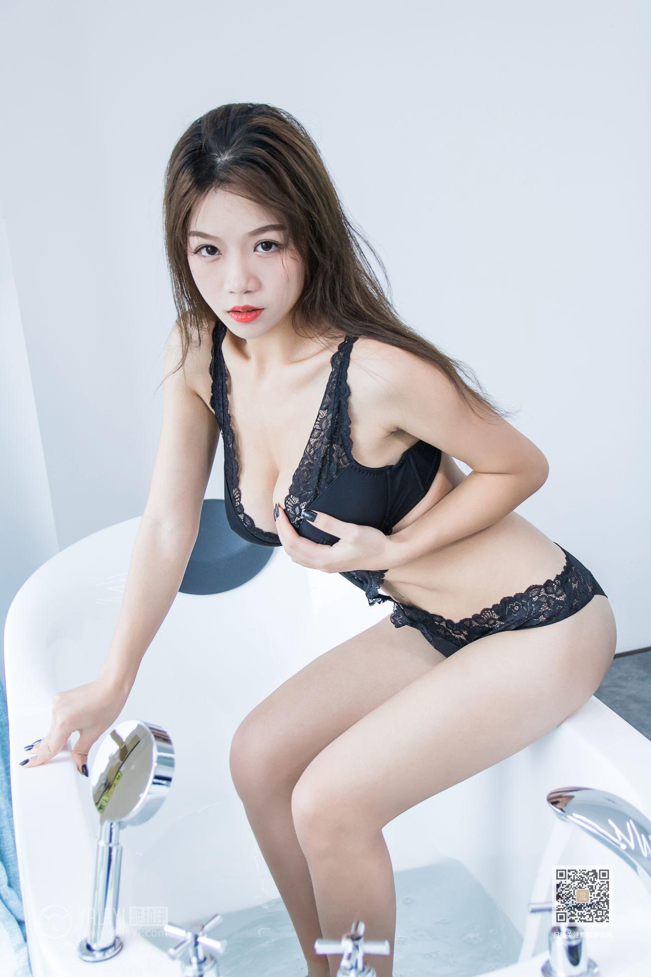 慧兒 [YALAYI雅拉伊]高清寫真圖 No.577一陣沐浴乳的香味瀰漫在房間裡[41P] - 貼圖 - 清涼寫真 -