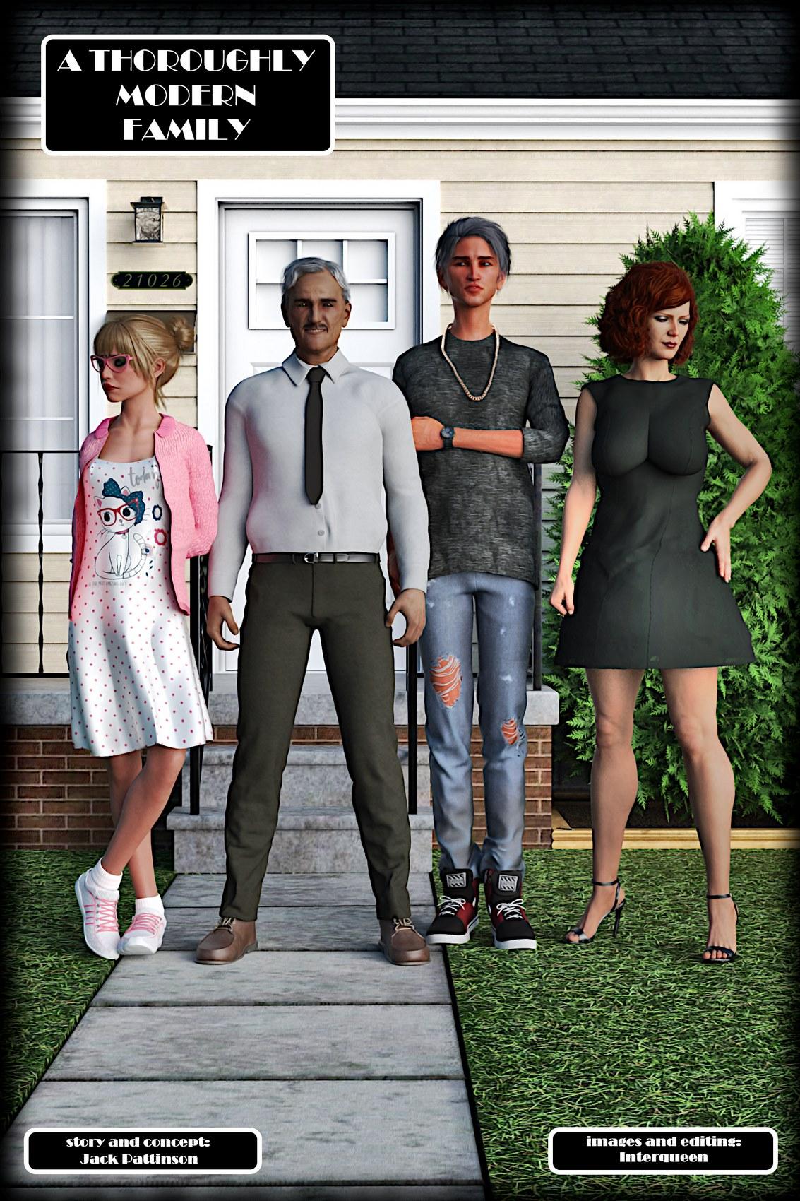 歐美3DAlison Hale – Modern Family - 情色卡漫 -