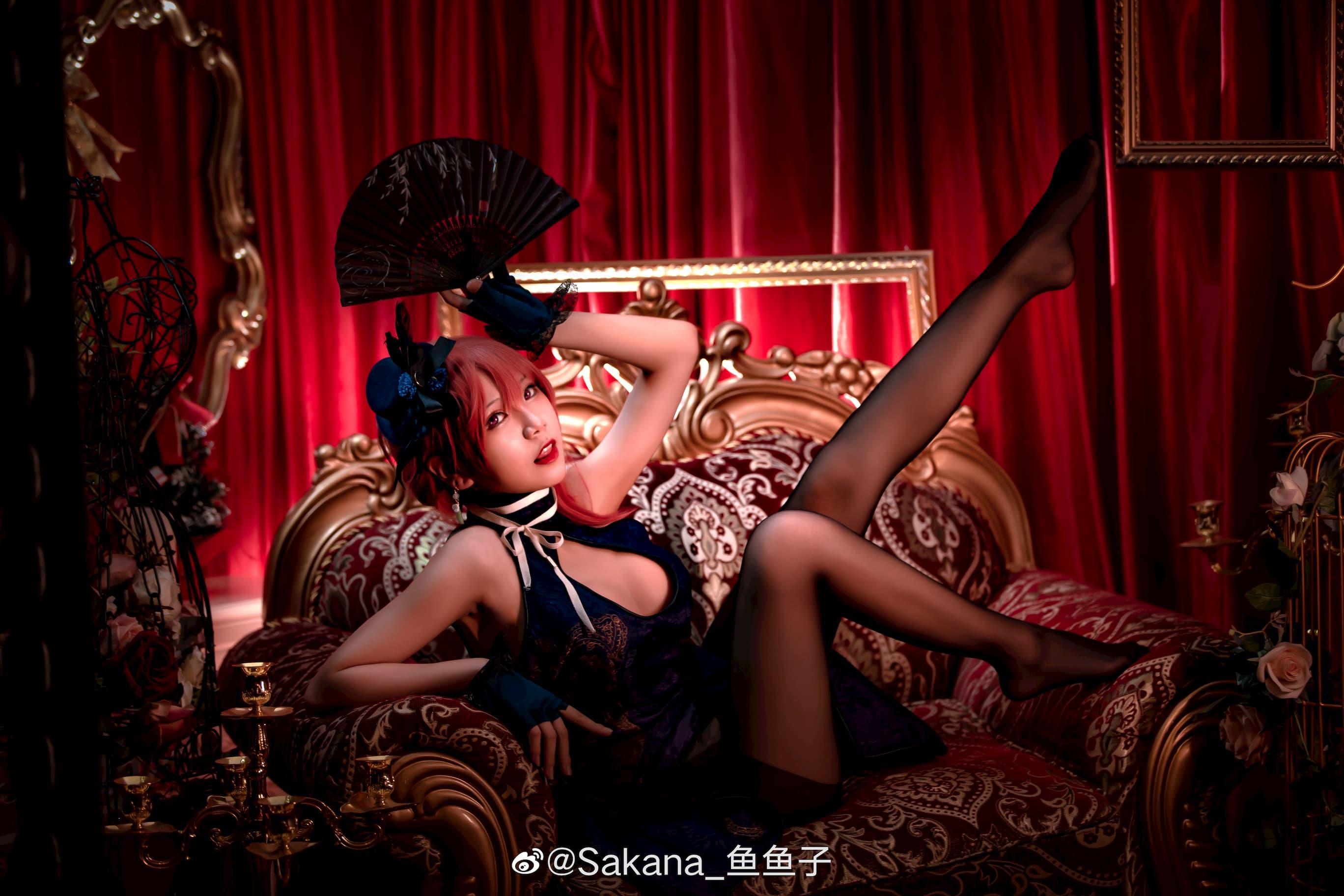 碧藍航線 黑太子·新春旗袍 @Sakana_魚魚子 - COSPLAY -