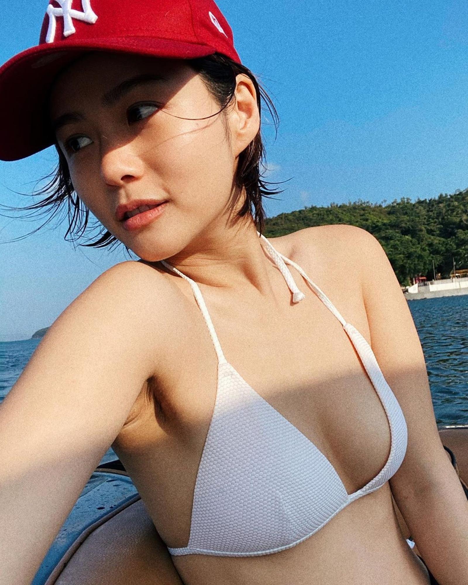 香港疫情之下,「股(屁股)價」不跌反升~方泳琳 - 亞洲美女 -