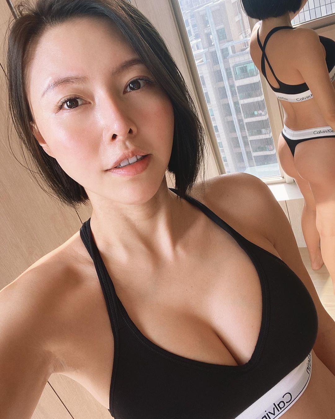 健身正妹兒換上比基尼 完美胸型呼之欲出美翻 - 美女圖 -