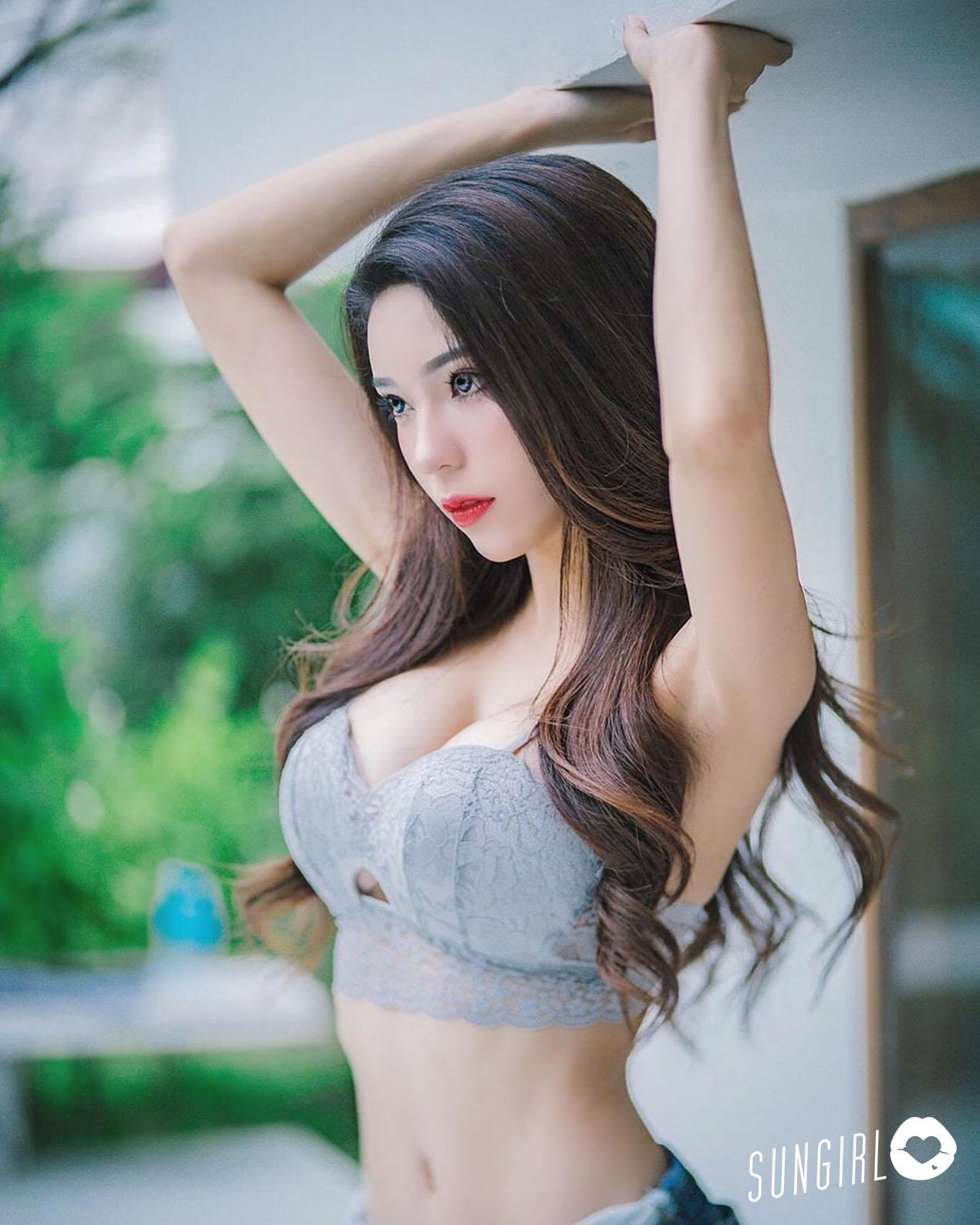 Janet、泰國氣質女孩纖細小蠻腰馬甲線好性感 - 亞洲美女 -