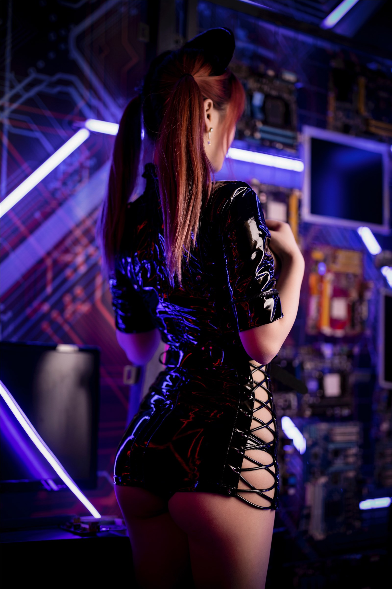 叉子寶寶 黑暗護士 - COSPLAY -