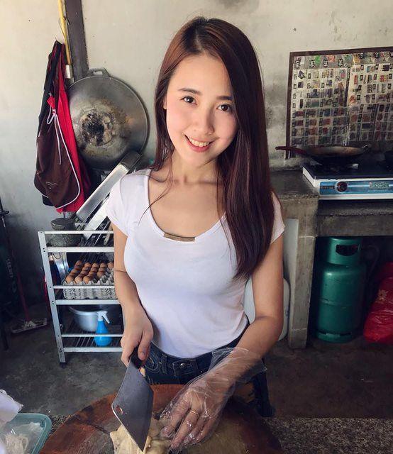 泰國海南雞飯女店員不得了!2年後更極品......~Tiwaporn Wongpinta - 亞洲美女 -