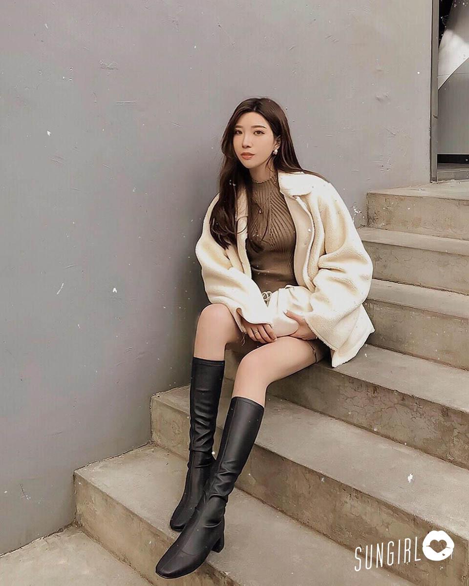 San珊迪、韓服初體驗小姐姐的奶油色穿搭好吸睛! - 美女圖 -