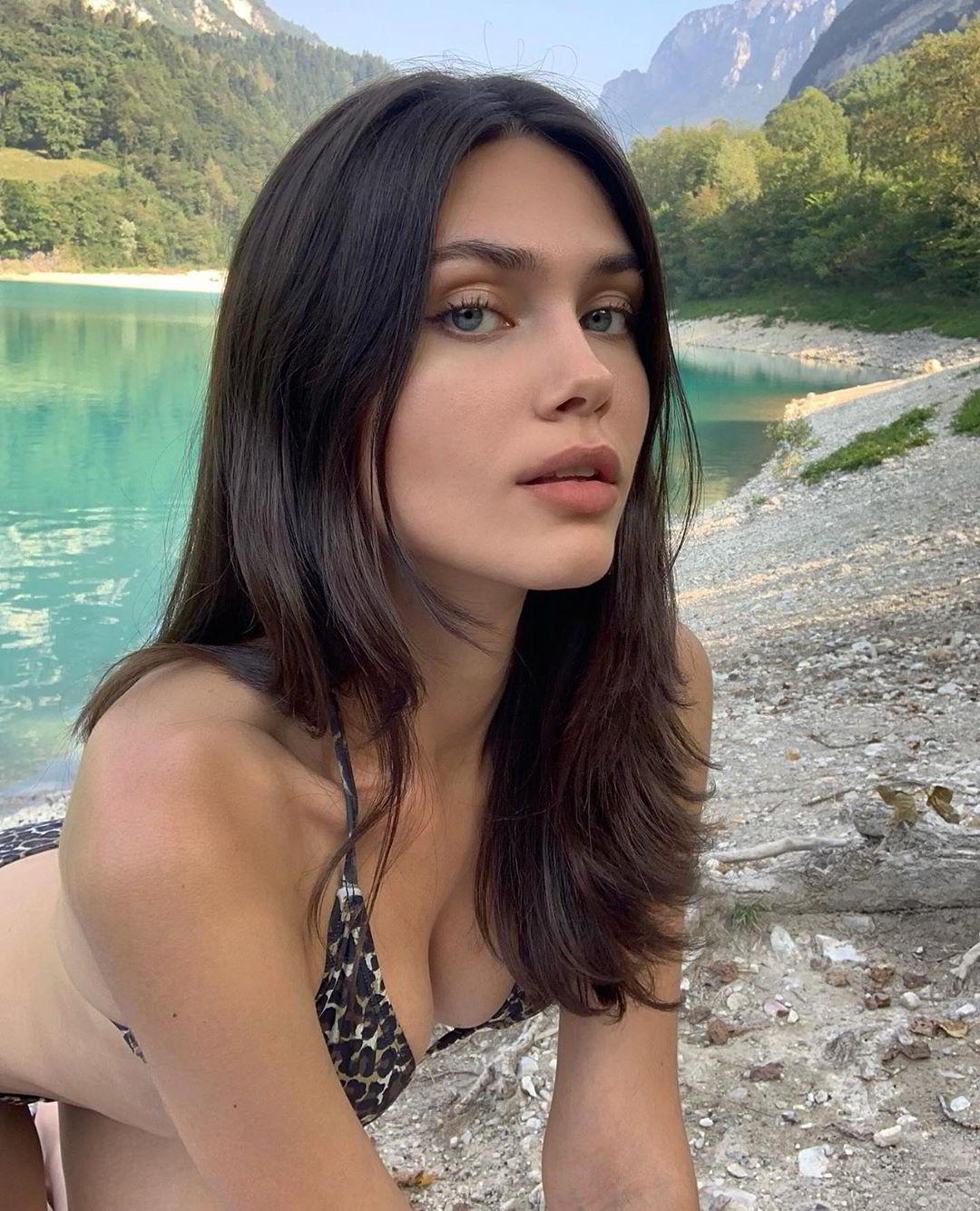 Vika Bronova 烏克蘭正妹拍廣告正式出道人氣爆棚 歐美美女