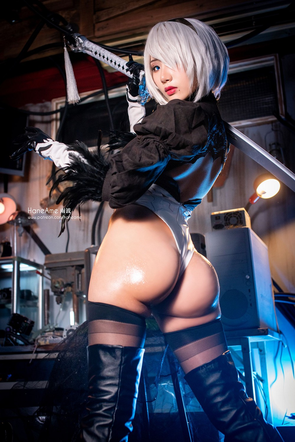 HaneAme 雨波 1 - COSPLAY -
