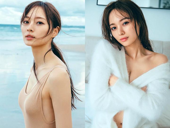 乃木坂46梅澤美波推出首本寫真模特兒性感魅力全開 - 亞洲美女 -