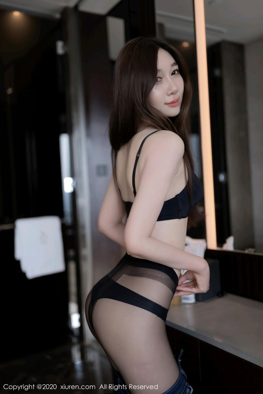 超長腿美模大秀情趣吊帶襪 Victoria志玲 - 貼圖 - 清涼寫真 -