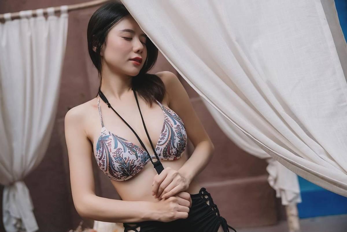 擁有黃金比例好身材「Janice 家家 王盈 」超挺性感美胸 粉絲跟著好害羞