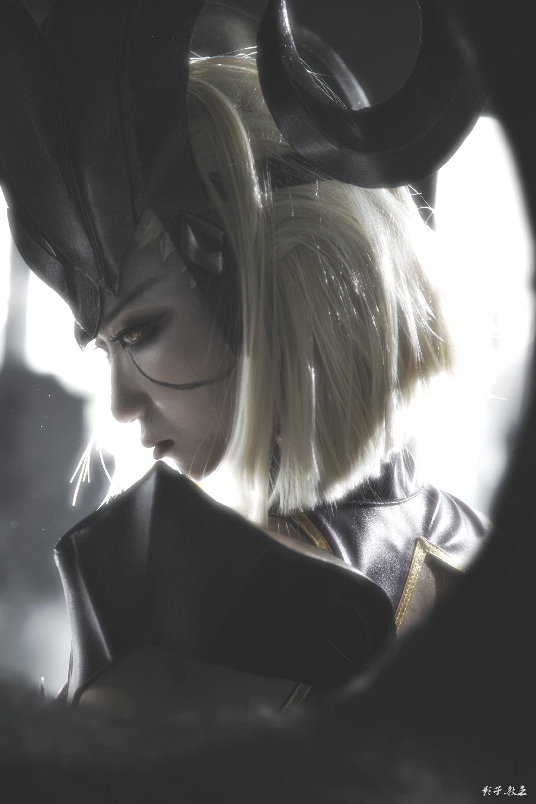 英雄聯盟   青鋼影 魔女  @阿喵一只貓ovo   (攝影:@教主Shadow)  (2020廣州麽多動漫嘉年華) - COSPLAY -