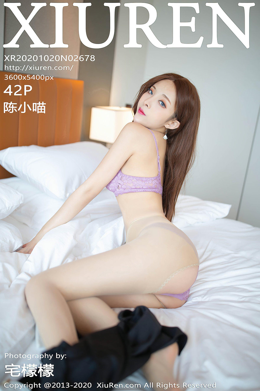 【Xiuren秀人網系列】2020.10.20 No.2678 陳小喵 完整版無水印寫真【43P】 - 貼圖 - 絲襪美腿 -