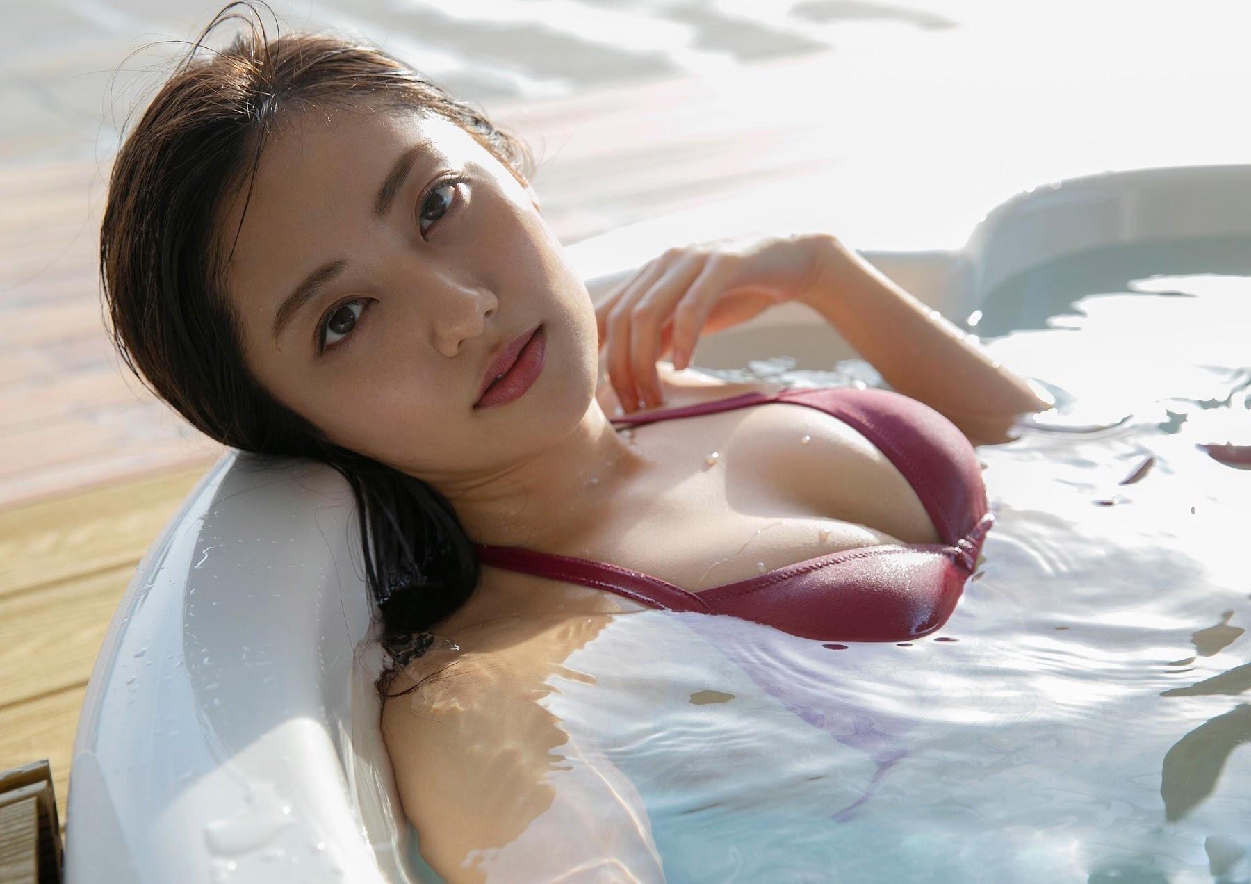 「日本最美身體」奧山かずさ 白嫩渾圓火辣大放送 - 亞洲美女 -
