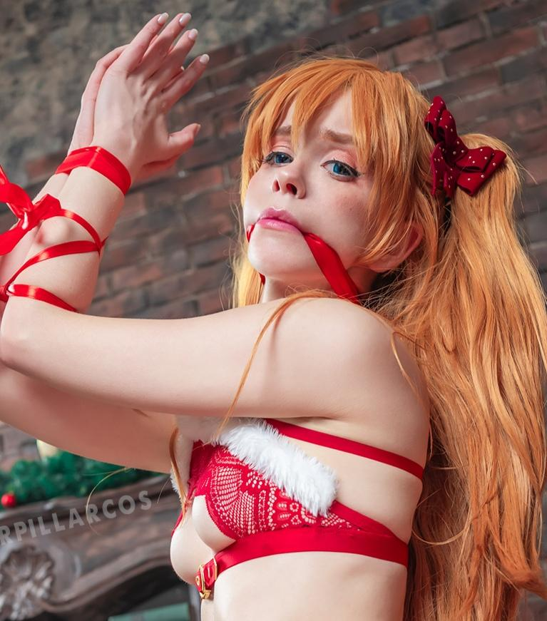 Cute Caterpillar Asuka Christmas Gift - COSPLAY -
