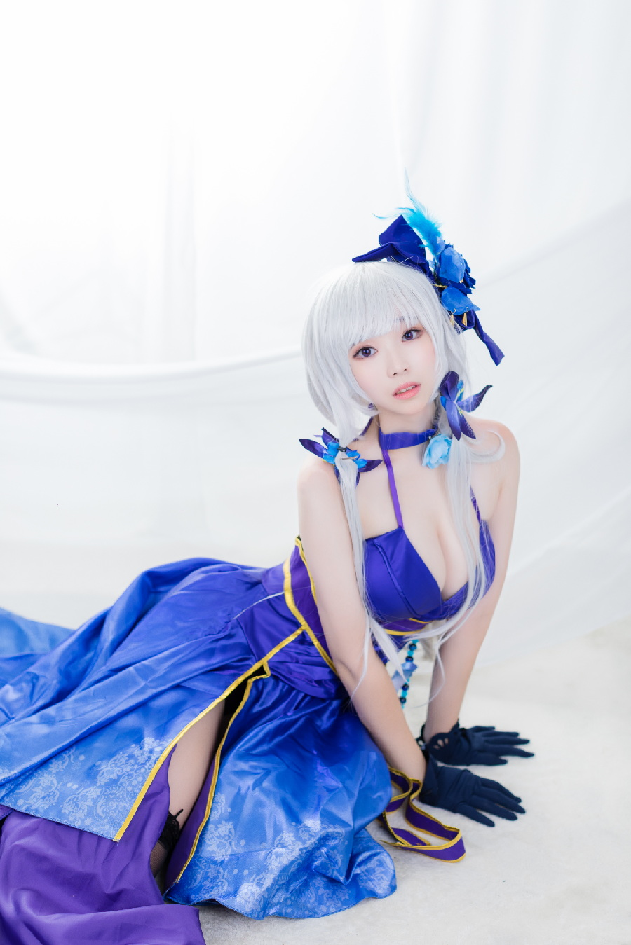 [BamBi寫真] Illustrious Never-Ending Tea Party ver. (アズールレーン) - COSPLAY -