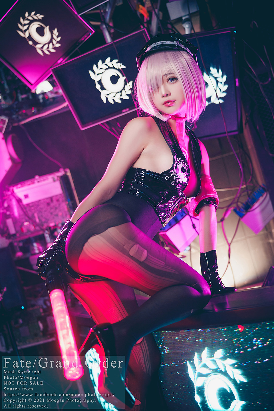 [沖田凜花Rinka] Mash, Sesshouin MoonCancer ver. (Fate Grand Order) - COSPLAY -