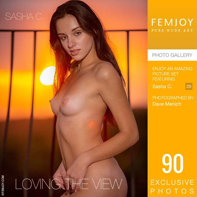 [Femjoy] Sasha-C_Loving-The-View - 貼圖 - 歐美寫真 -