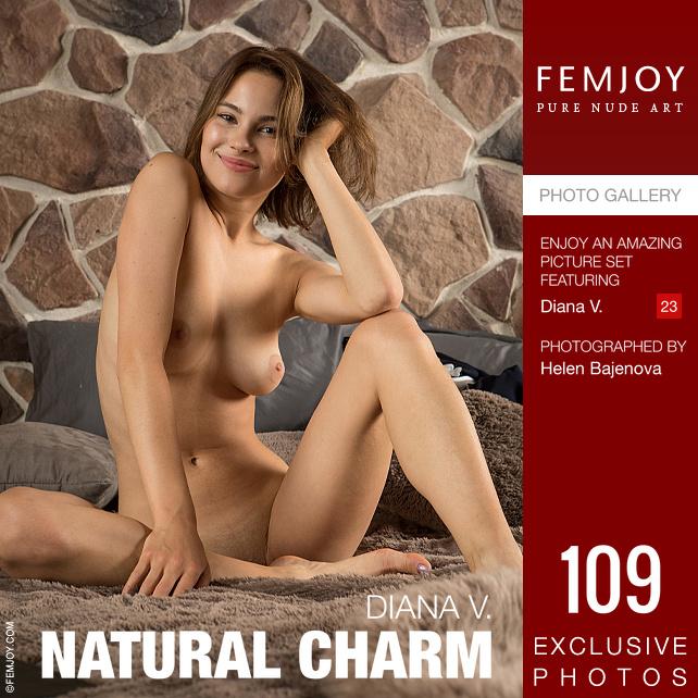 Femjoy.com Diana-V Natural-Charm - 貼圖 - 歐美寫真 -