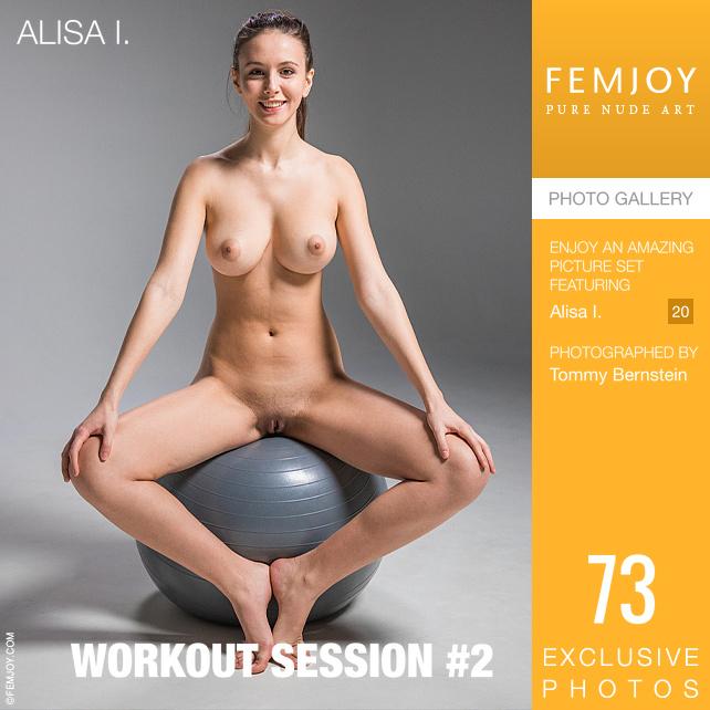 [Femjoy] Alisa-I_Workout-Session-2 - 貼圖 - 歐美寫真 -