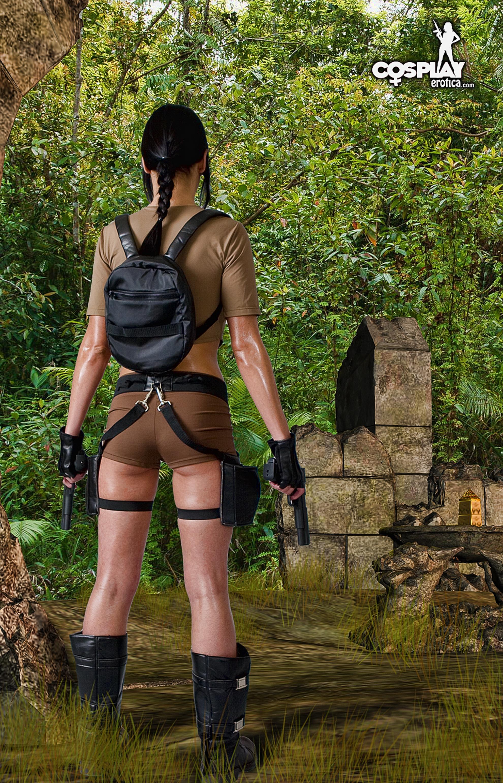 Cosplayerotica Mea Lee Treasure Hunter - 貼圖 - 歐美寫真 -