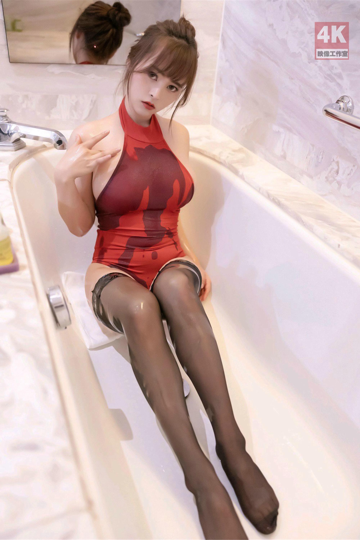 涼兒濕身誘惑巨乳黑絲 - 亞洲美女 -