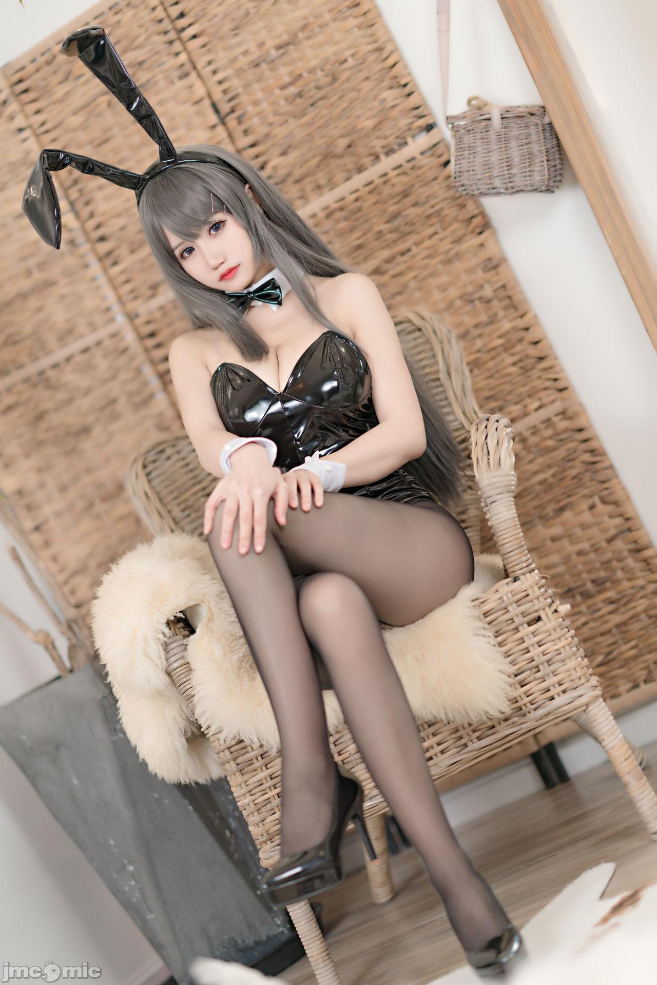 【小倉千代w】櫻島麻衣 兔女郎 - 貼圖 - 清涼寫真 -