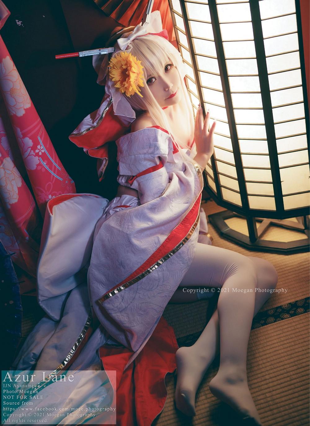[醉宮 Yomiya] Ayanami, wedding ver. (アズールレーン) - COSPLAY -