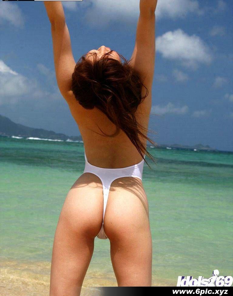 日本漂亮的女孩在海邊拍攝 - 貼圖 - 清涼寫真 -