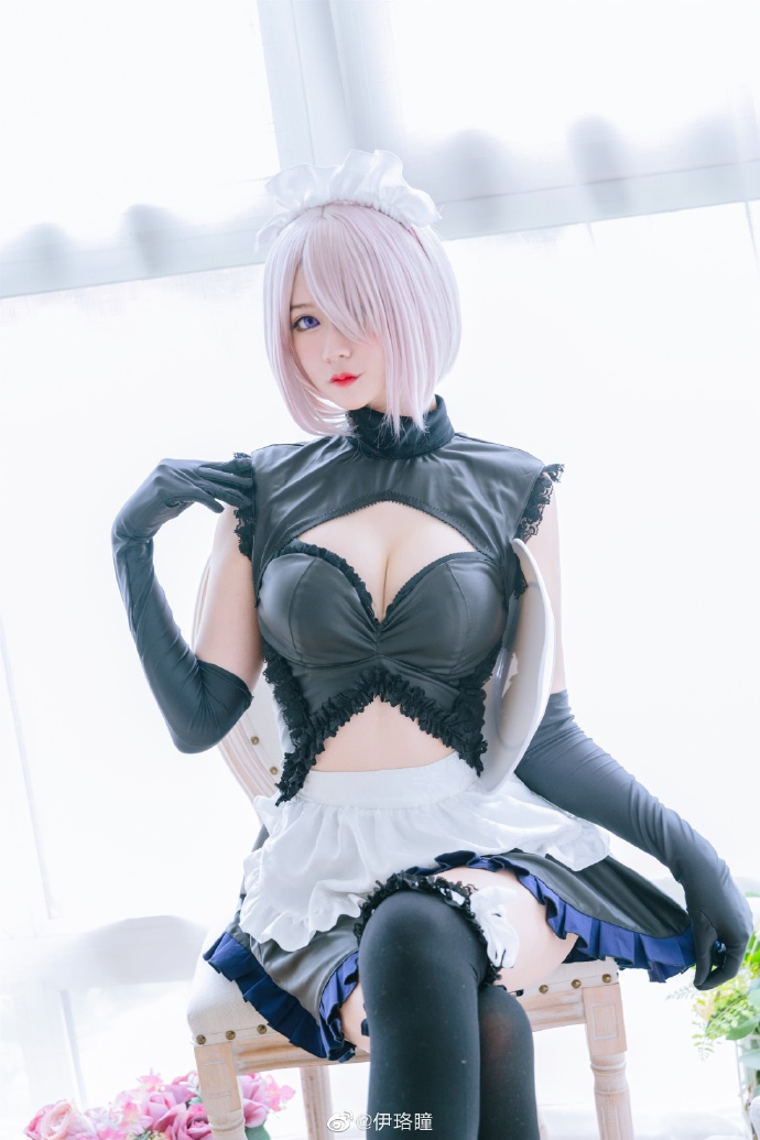 Fate/Grand Order 瑪修女仆cos CN伊珞瞳 - COSPLAY -
