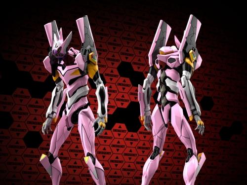 新機速報! 粉紅狙擊手來襲、萬代年底推出「福音戰士8號機α」塑膠組裝模型!