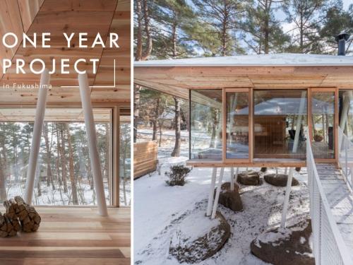 為躲避積雪!日本「高腳小木屋」奇景意外爆紅,還設小橋可走向對面房