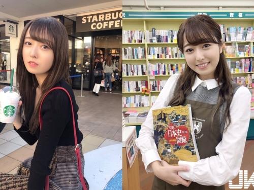 2018年「慶應大學小姐」小田安珠 「致命甜笑+修長美腿」網秒戀愛:那腿我可以玩一整年