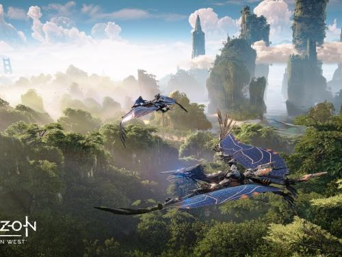在機械生物控制下的世界闖蕩!索尼獨家電玩《地平線:期待黎明》新作發表