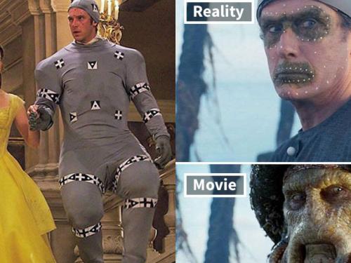 差很大!好萊塢電影「去掉特效」真實樣貌好驚奇,《哈利波特》魔法學校瞬間變鬼屋