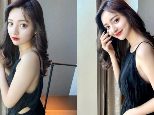 青山學院大學「超可愛大眼正妹」,露背洋裝超顯「性感曲線」!