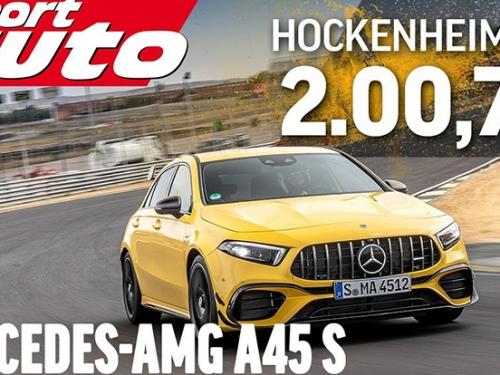 [影]「新世代鋼砲王」AMG A45 S 有多猛?下賽道只比入門 R8 慢一點,甚至比野馬GT還要快!