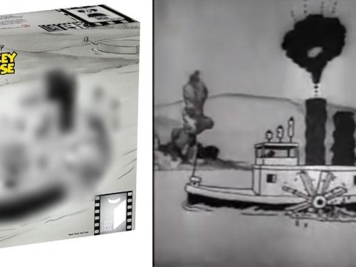 (含開箱照片) 91年歷史!樂高LEGO推出迪士尼經典「蒸汽船威利 Steamboat Willie」!