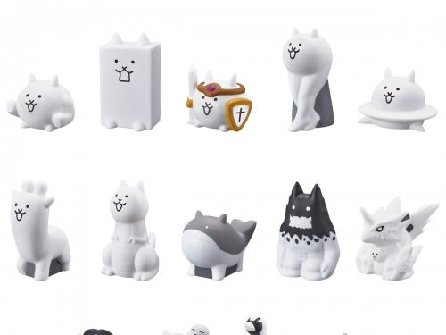 噁心又帶點可愛! BANDAI CANDY推出「貓咪大戰爭 軟膠人偶食玩」第二彈!
