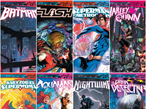 DC 漫畫正式宣布全新的大事件《未來狀態》!