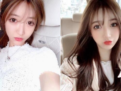 可愛大眼萌妹「lanshurong」,甜美笑容加性感身材超優質!