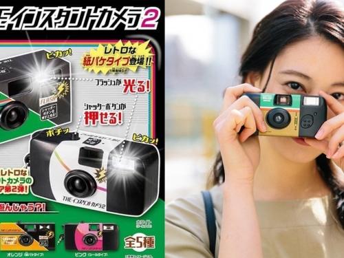 復古裝飾! ShineG推出「THE 傻瓜相機 vol.2」扭蛋系列!