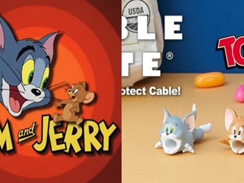 上映50週年! 日廠DREAMS推出美國動畫傳奇「湯姆貓與傑利鼠」電源線保護套!