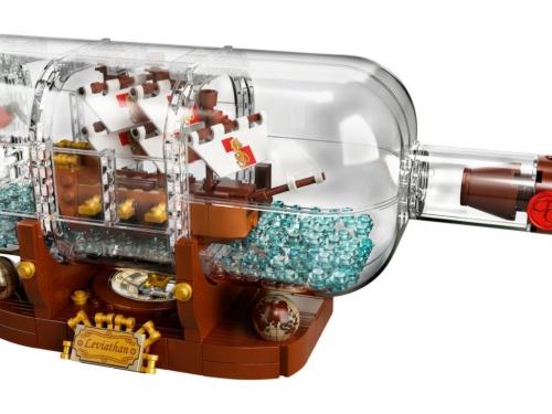 積木中的藝術品! LEGO推出新包裝復刻「瓶中船 Ship in a bottle 」!
